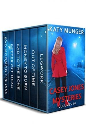 Cover for Casey Jones Mysteries Boxed Set