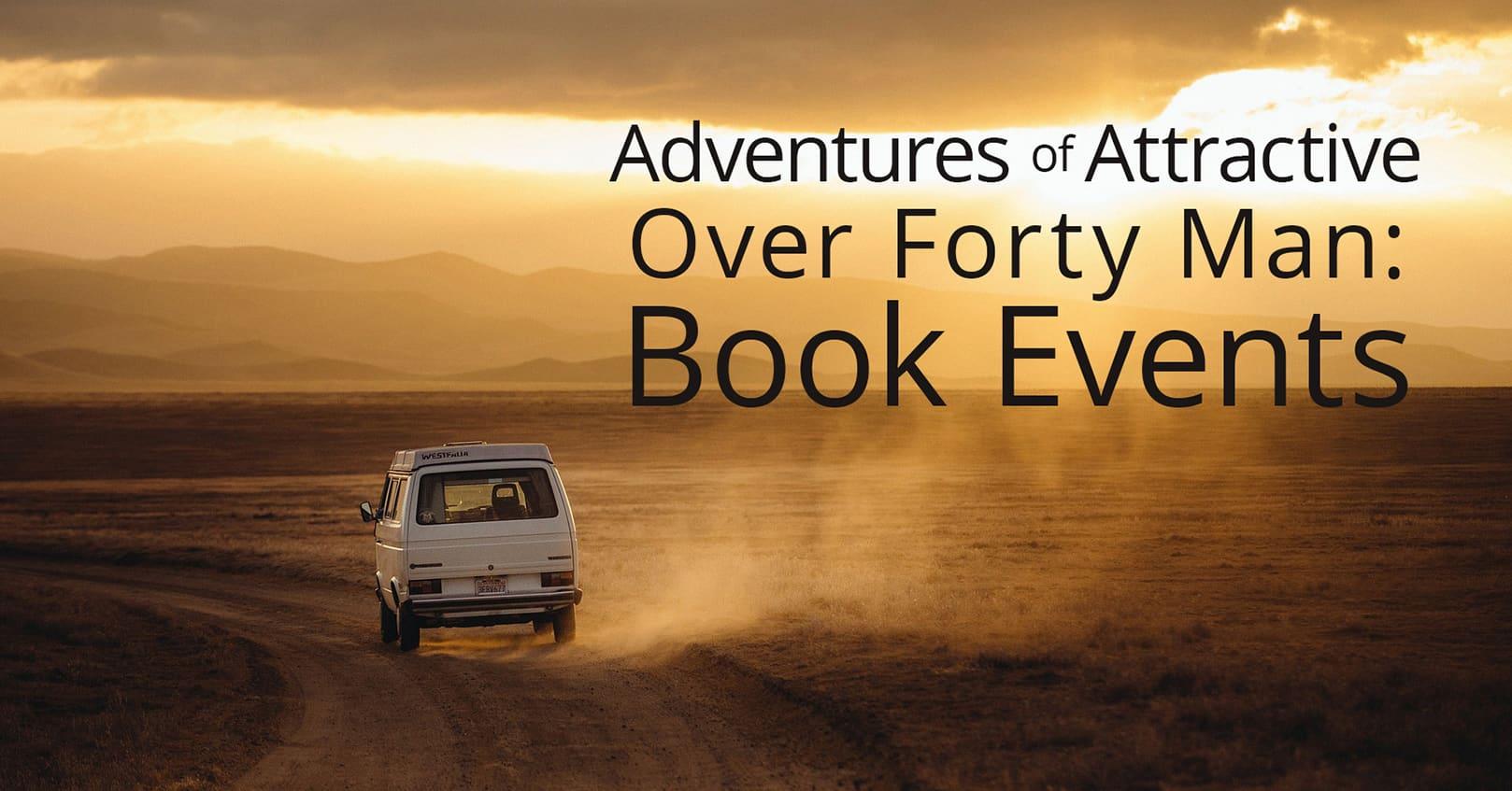 book signing adventures