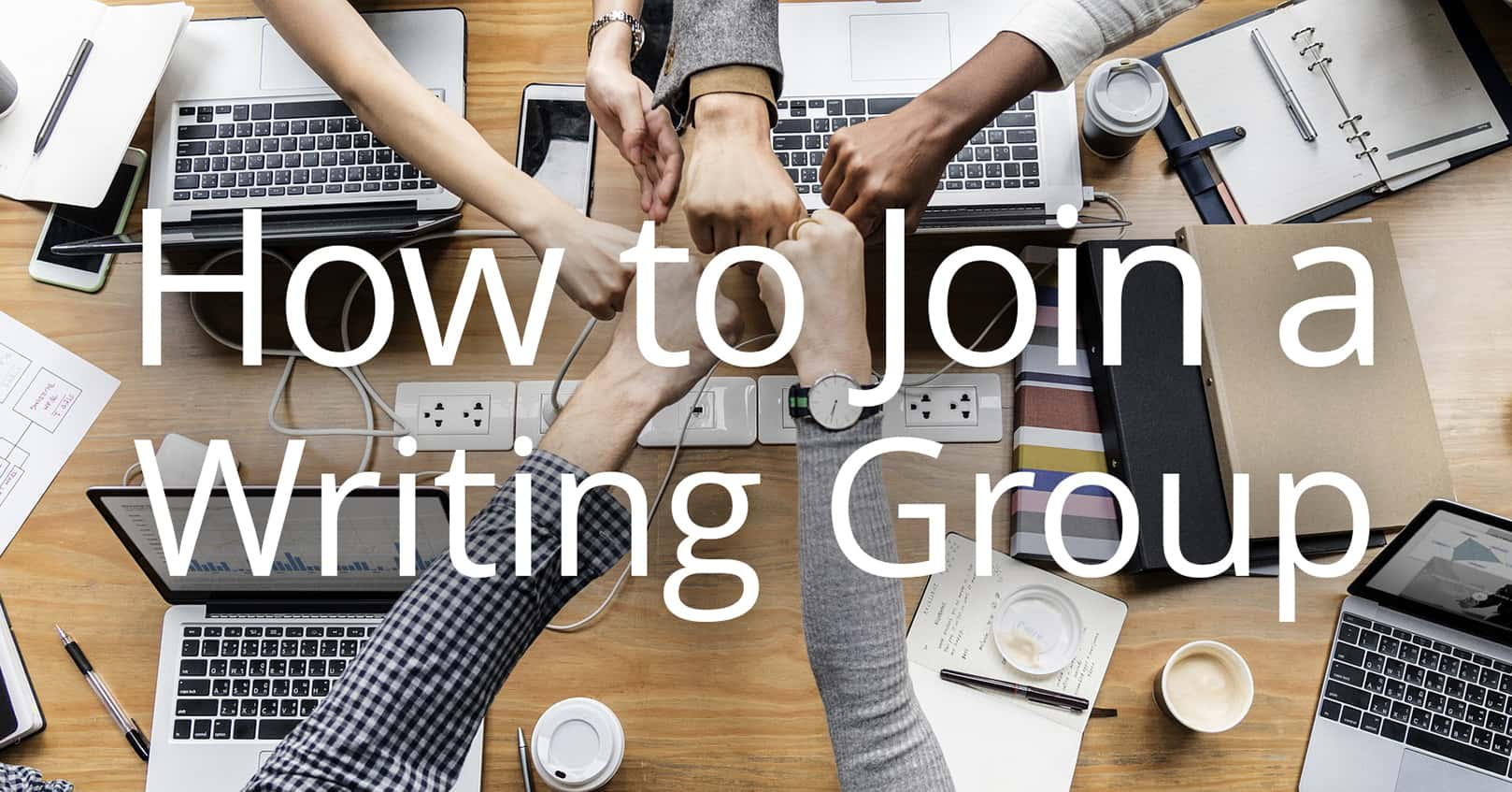 join a writing group