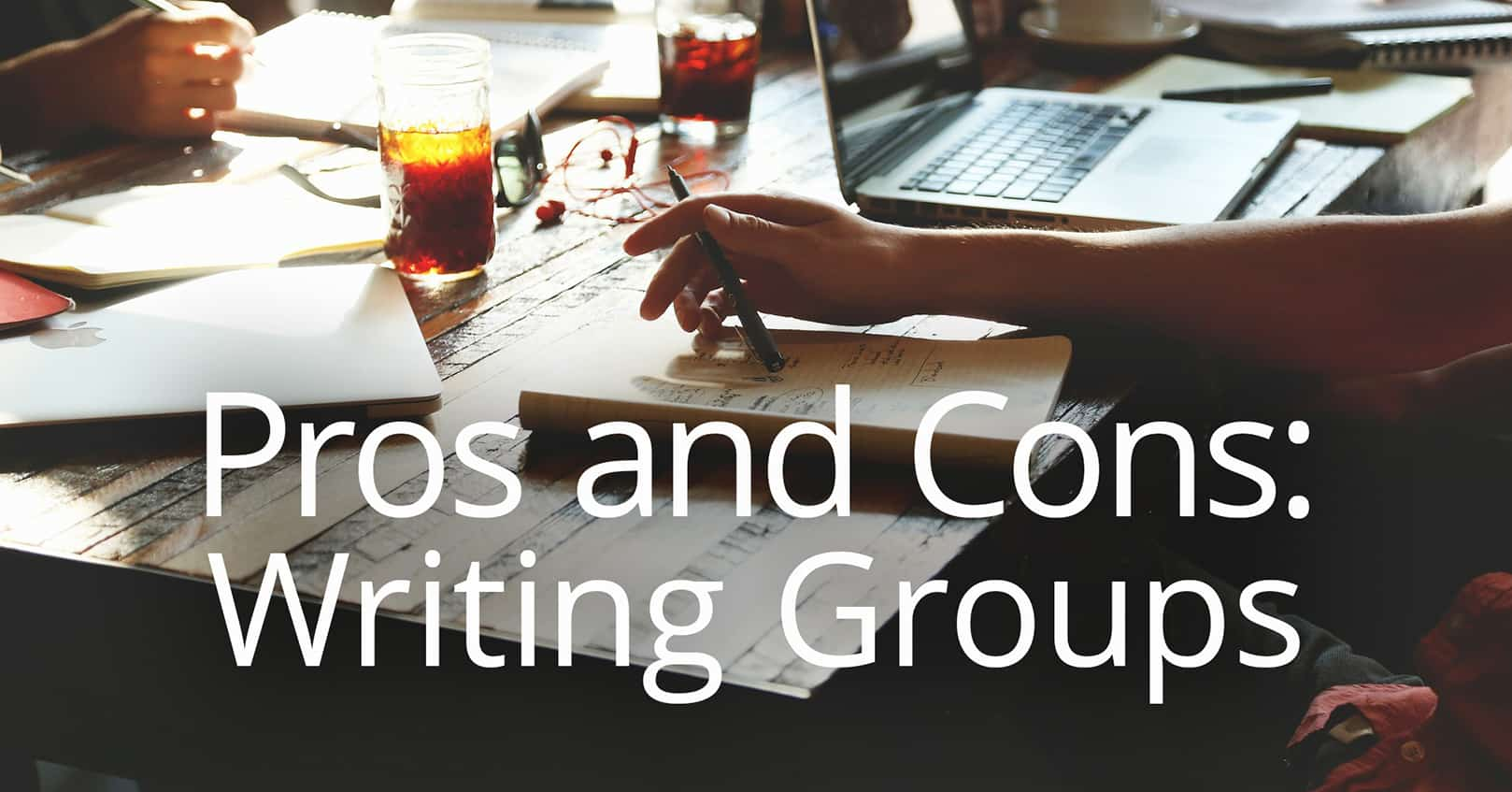pros and cons of writing groups
