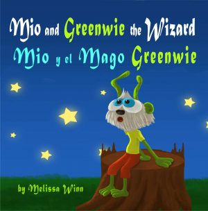 Cover for Mio and Greenwie the Wizard