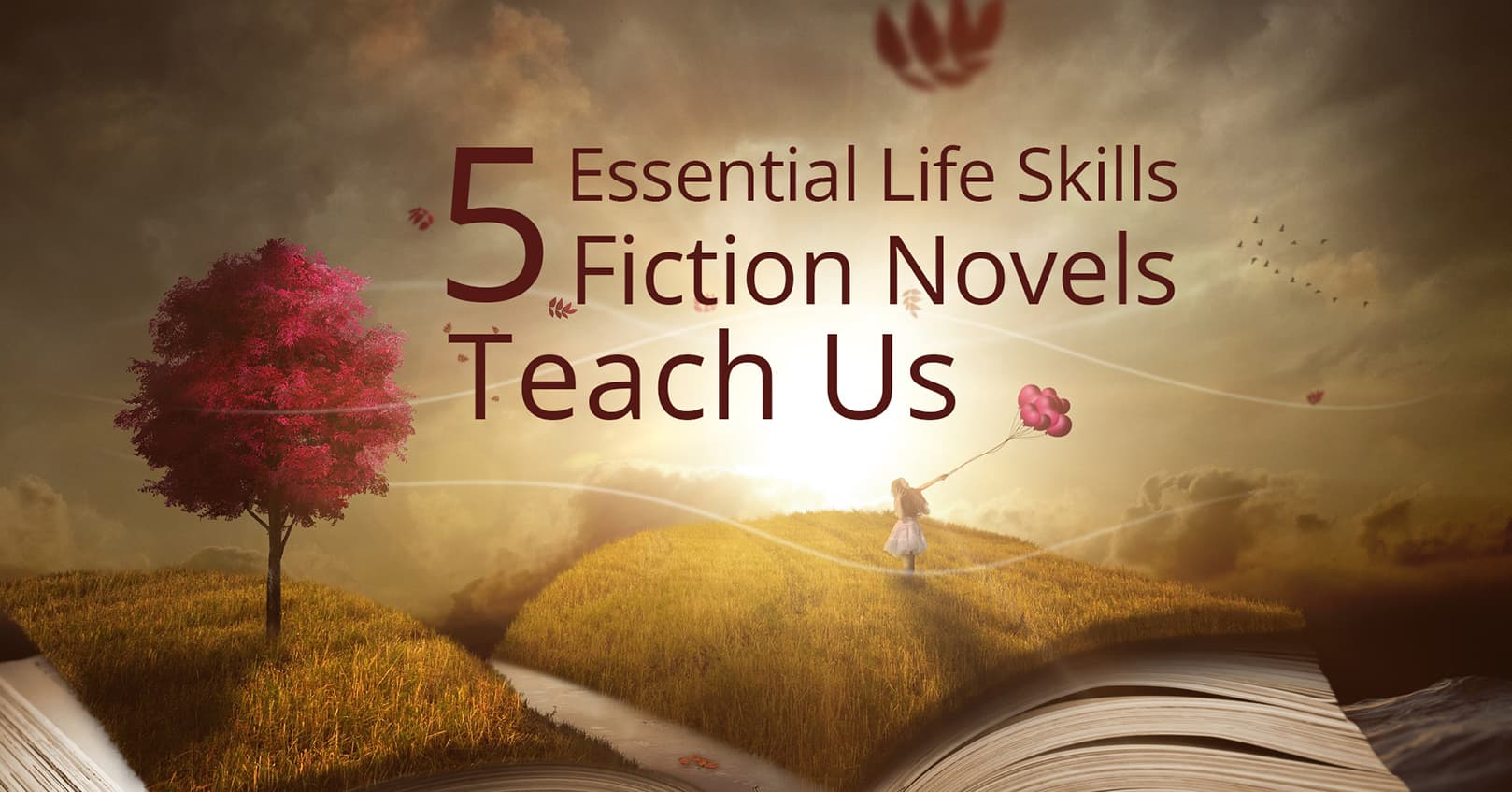 essential life skills fiction novels teach