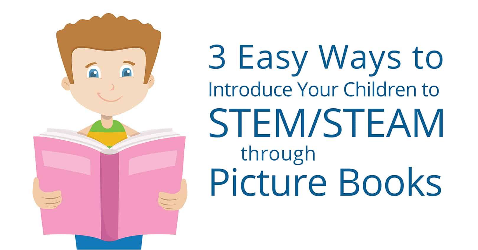 introduce children to STEM through picture books