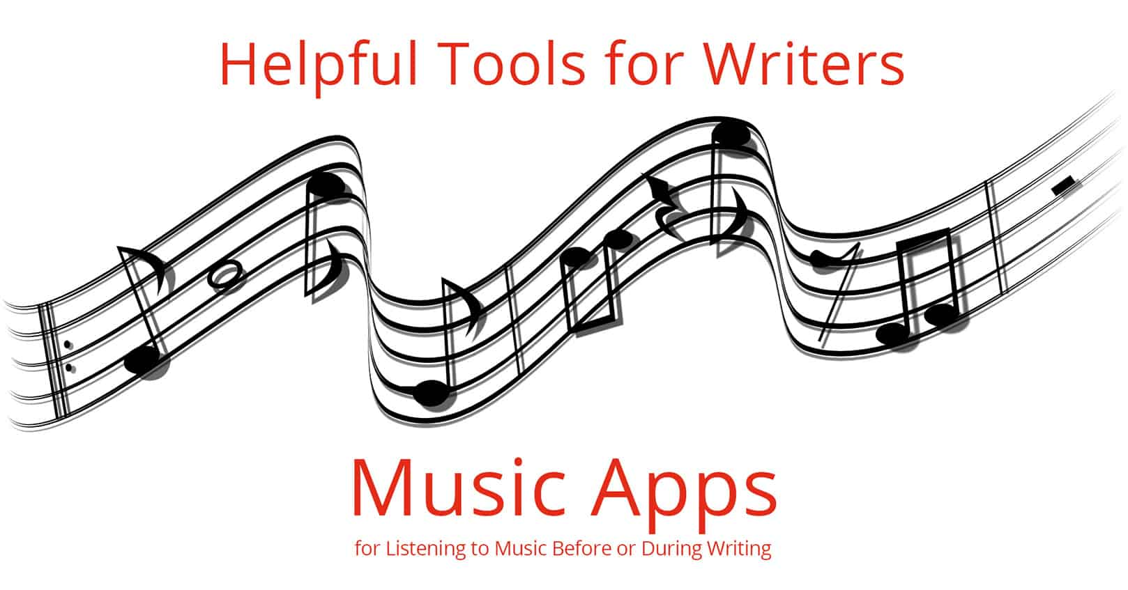 helpful tools for authors: music apps