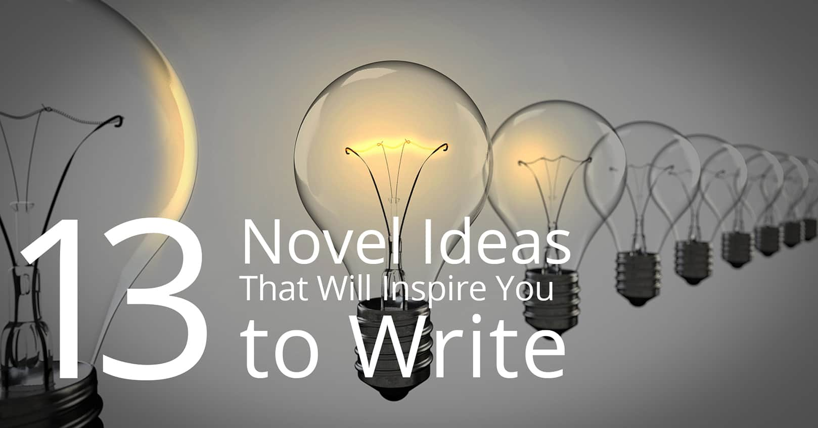 novel ideas that will inspire you to write