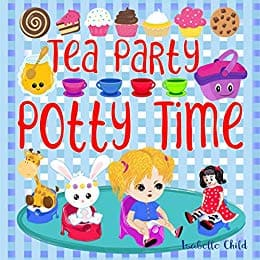 Cover for Tea Party Potty Time