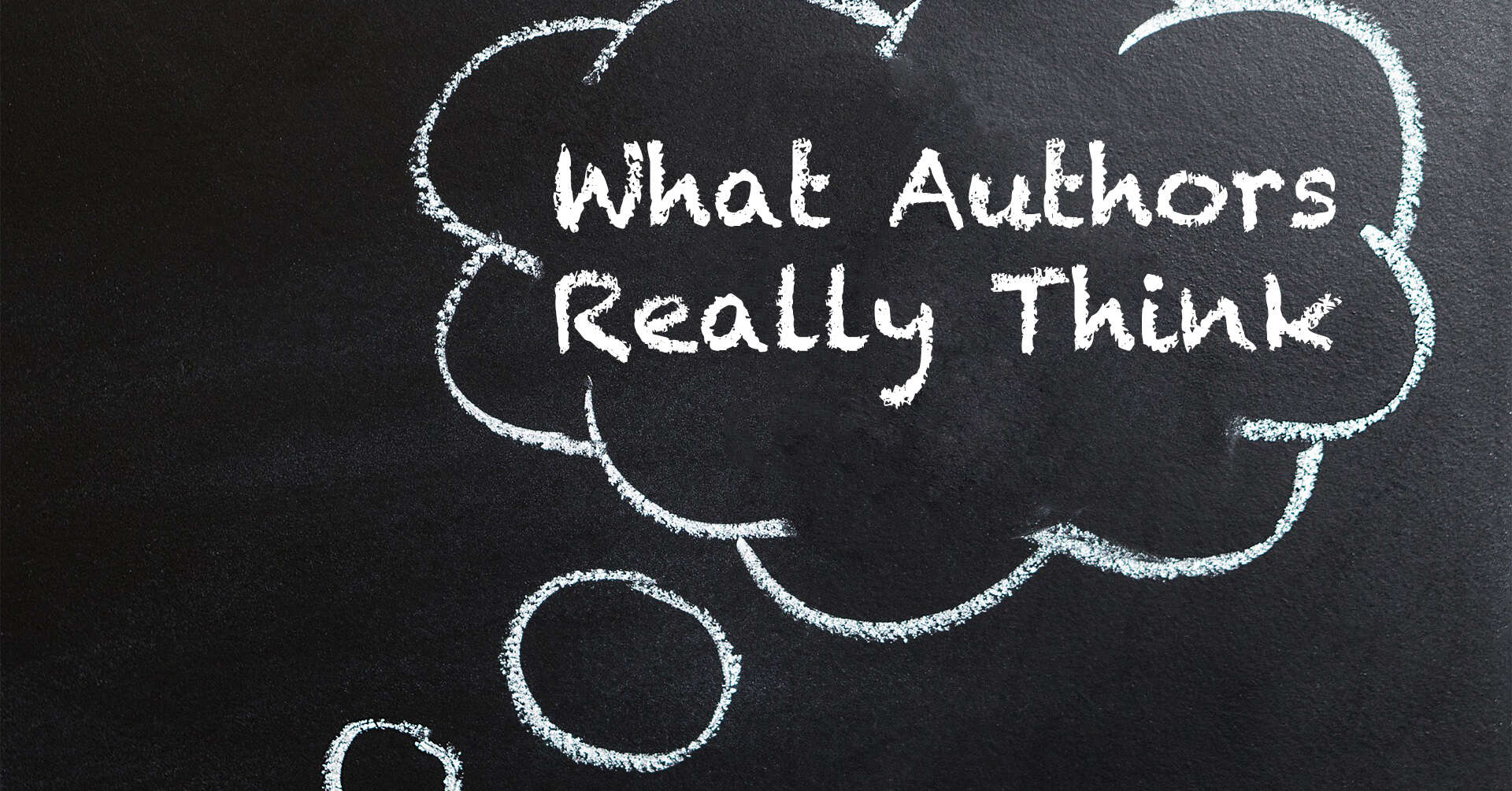 what authors really think