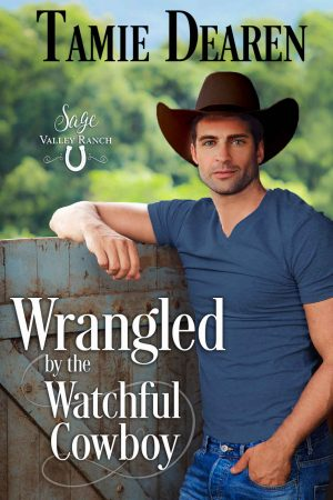 Cover for Wrangled by the Watchful Cowboy