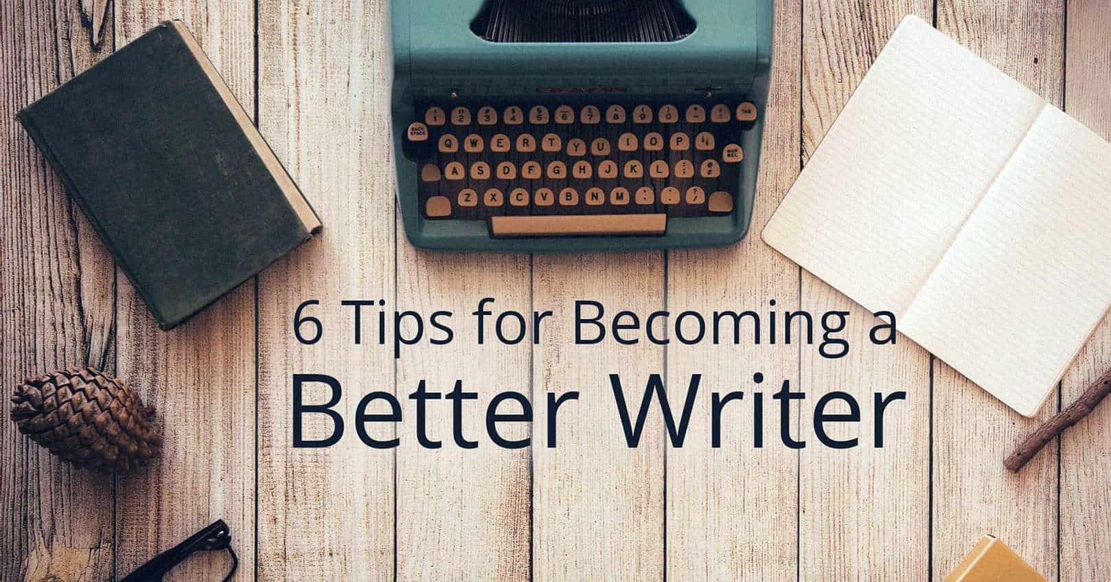 becoming a better writer