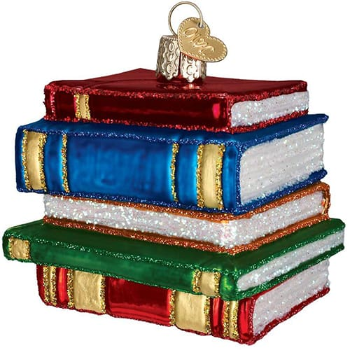 book ornament