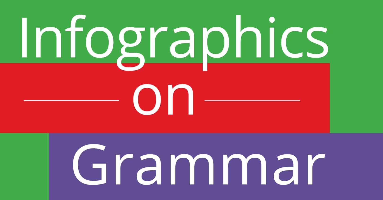 infographics on grammar
