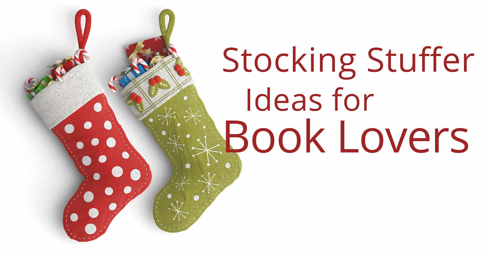 stocking stuffer ideas for book lovers