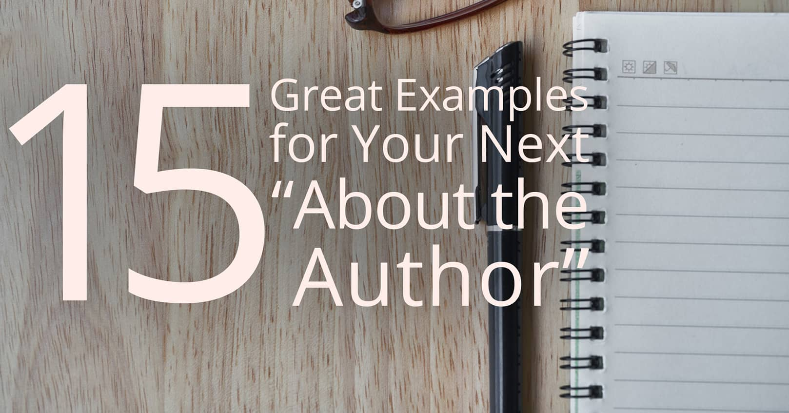 about the author examples