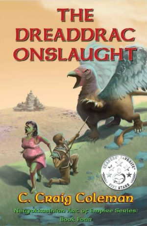 Cover for The Dreaddrac Onslaught