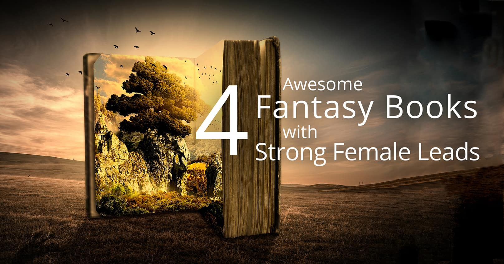fantasy books with strong female leads