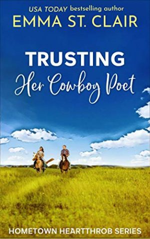 Cover for Trusting Her Cowboy Poet