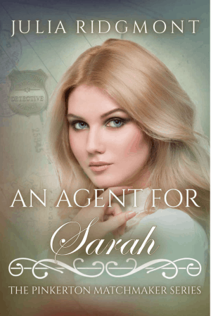 Cover for An Agent for Sarah
