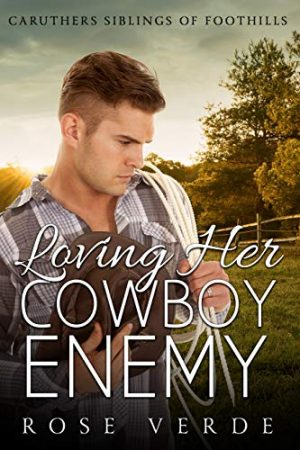 Cover for Loving Her Cowboy Enemy