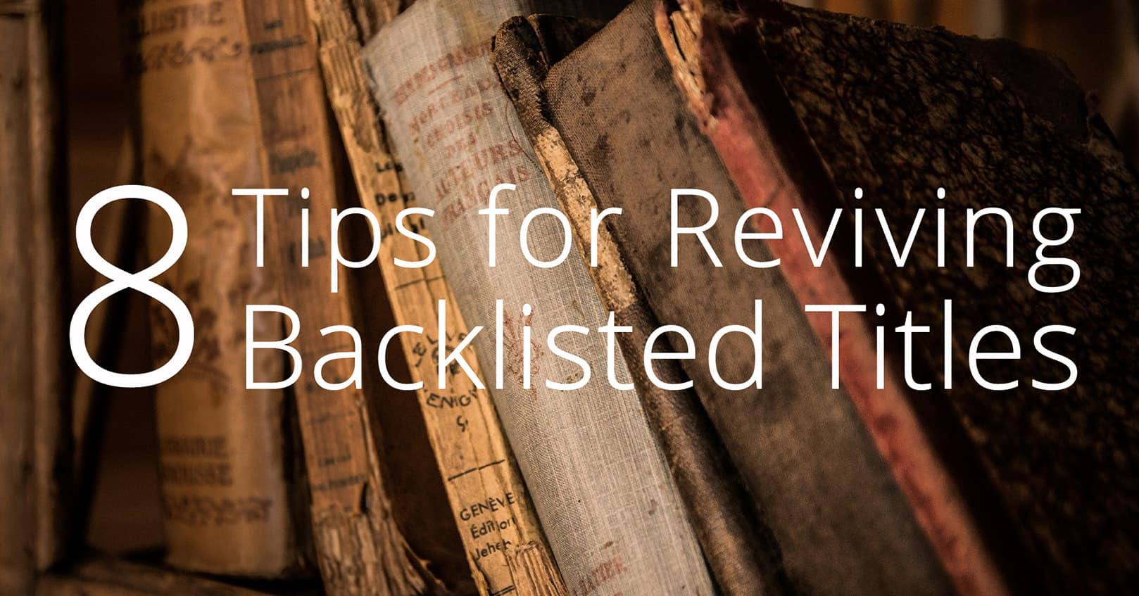 reviving backlisted titles