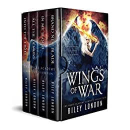 Cover for Wings of War: The Complete Angel Academy Series
