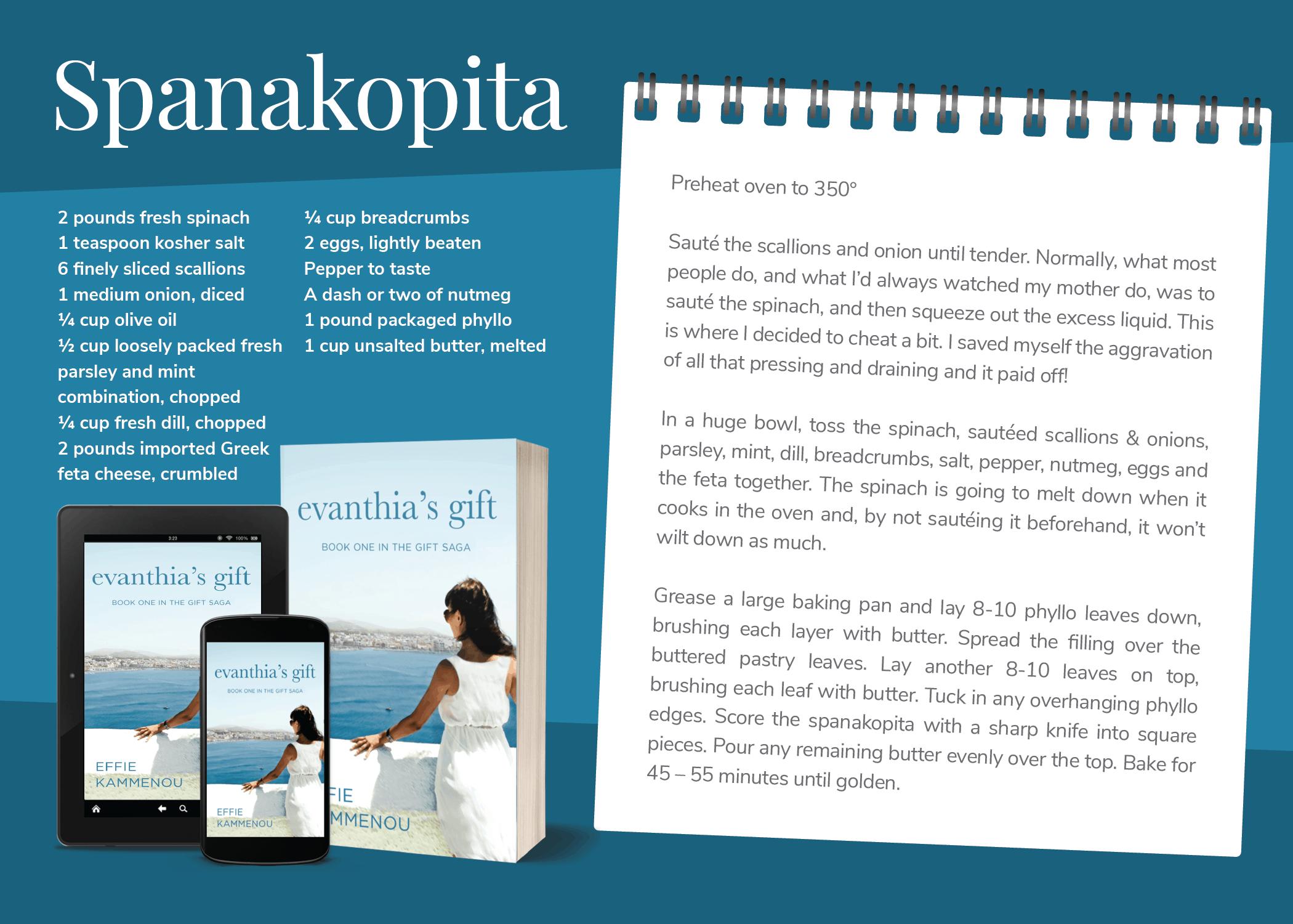 Evanthia's Gift - Spanakopita