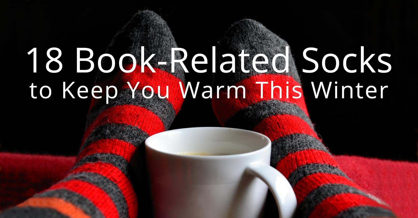 book related socks to keep you warm
