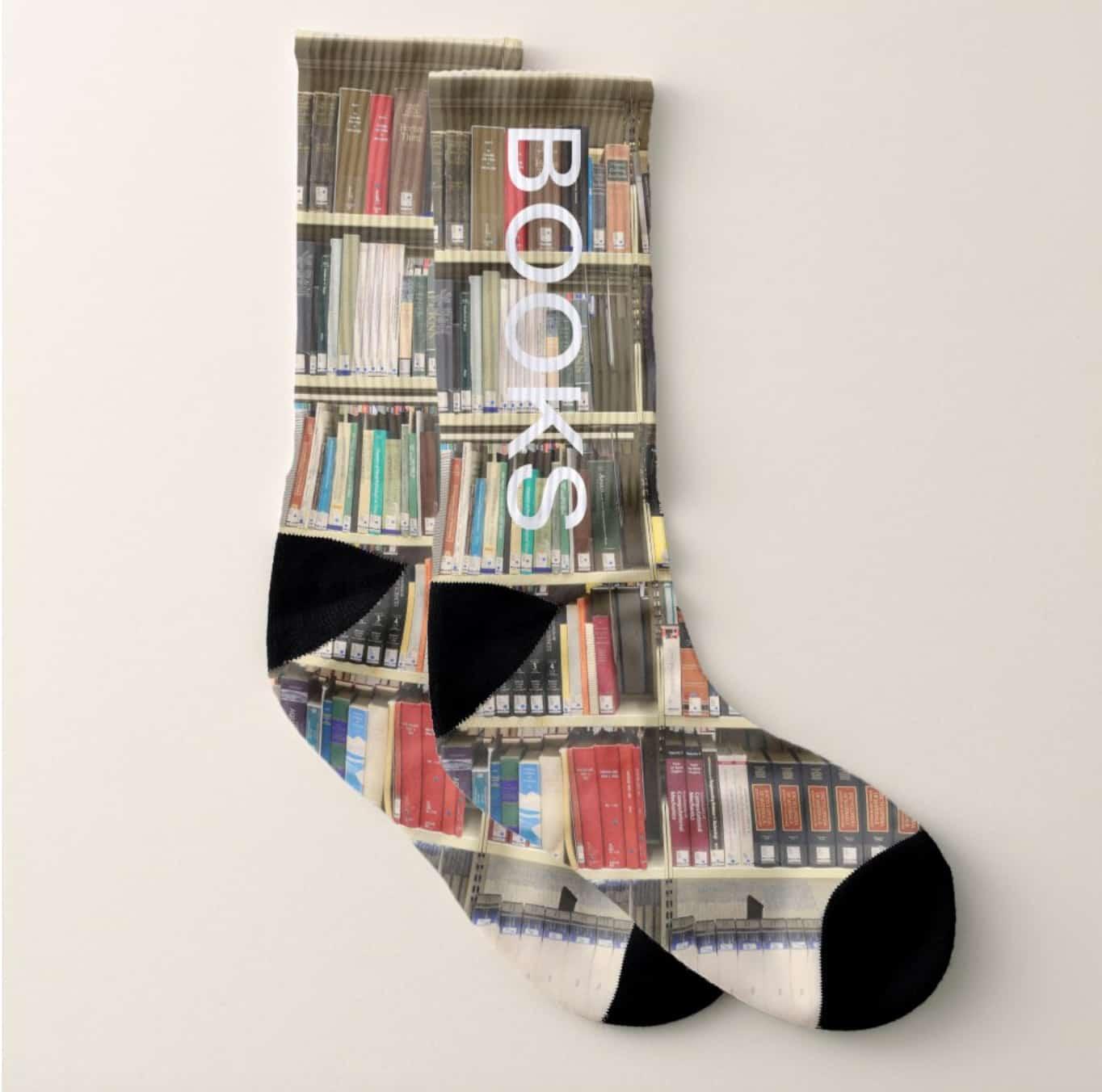 bookcase socks