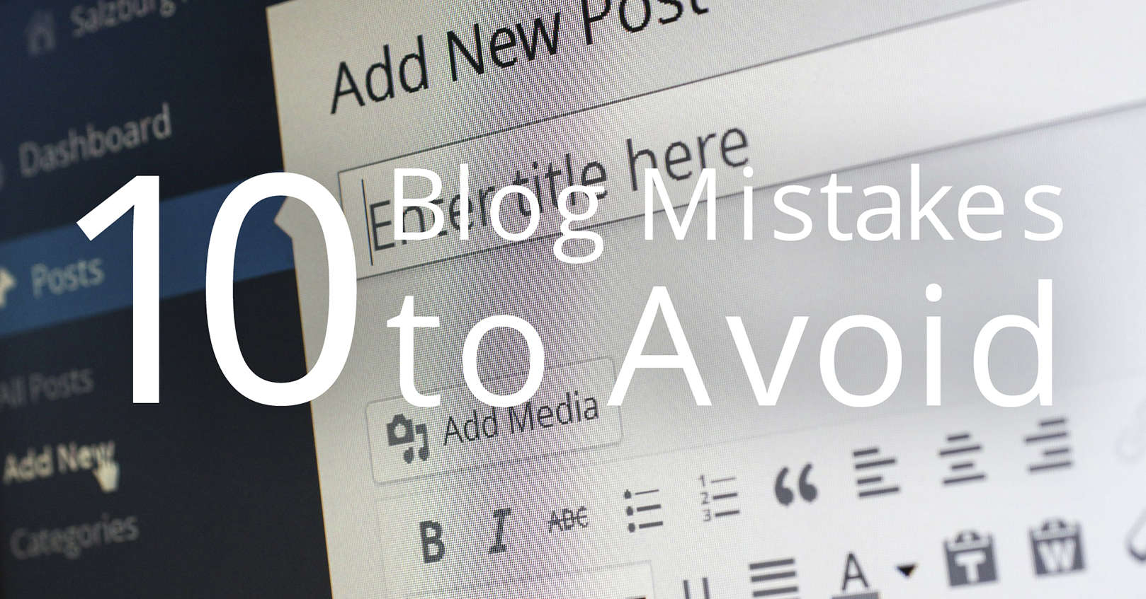 blog mistakes to avoid