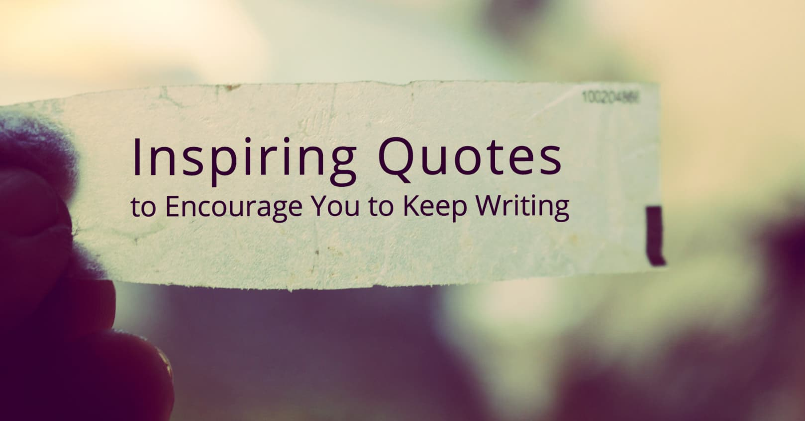 Inspiring Quotes to Keep You Inspired