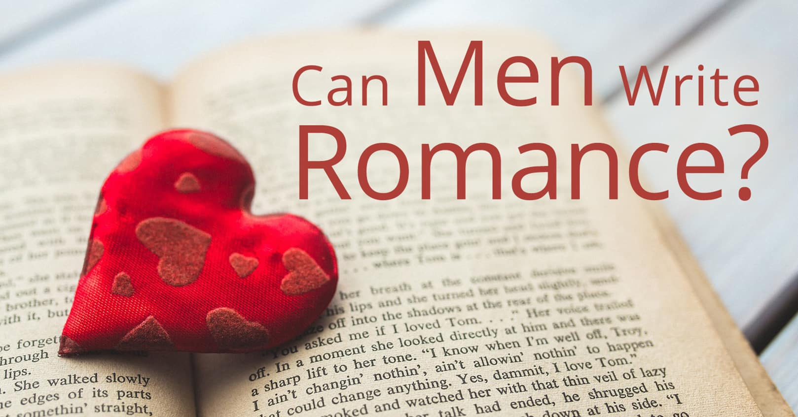 can men write romance