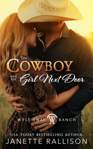 Cover for The Cowboy and the Girl Next Door