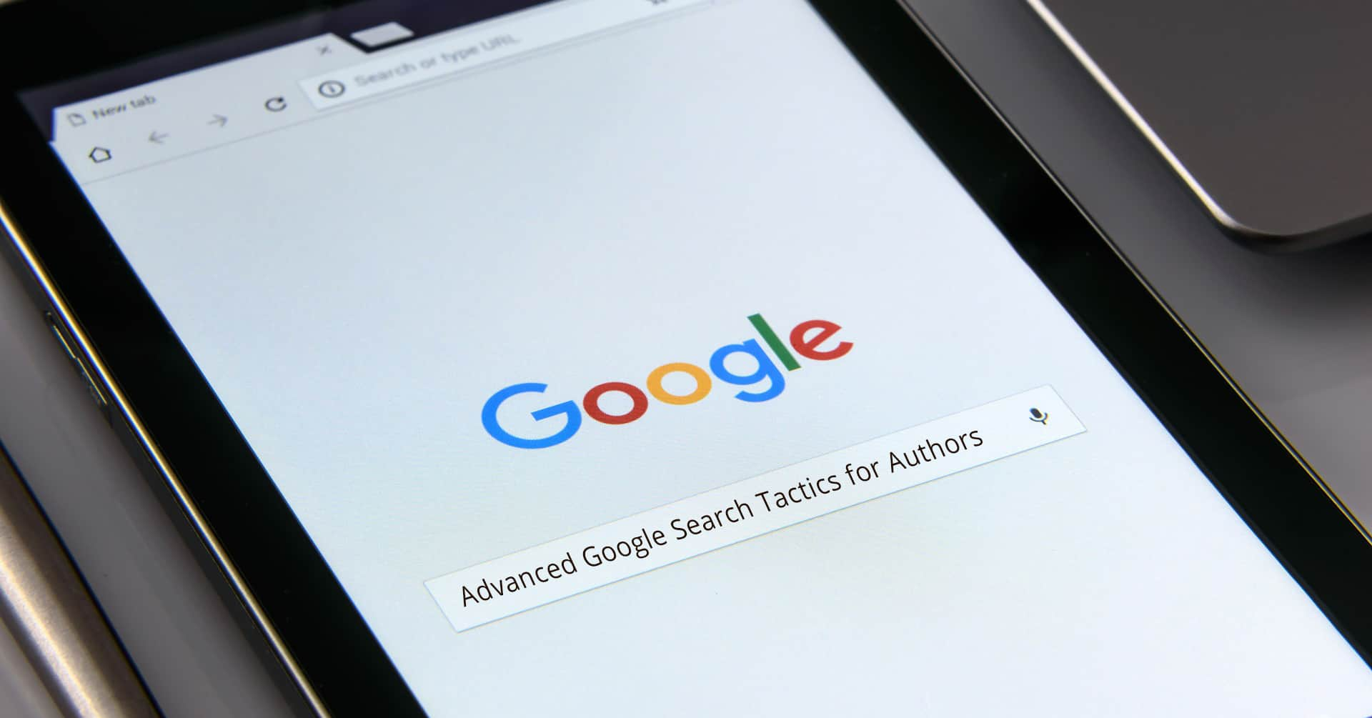 google search tactics for authors
