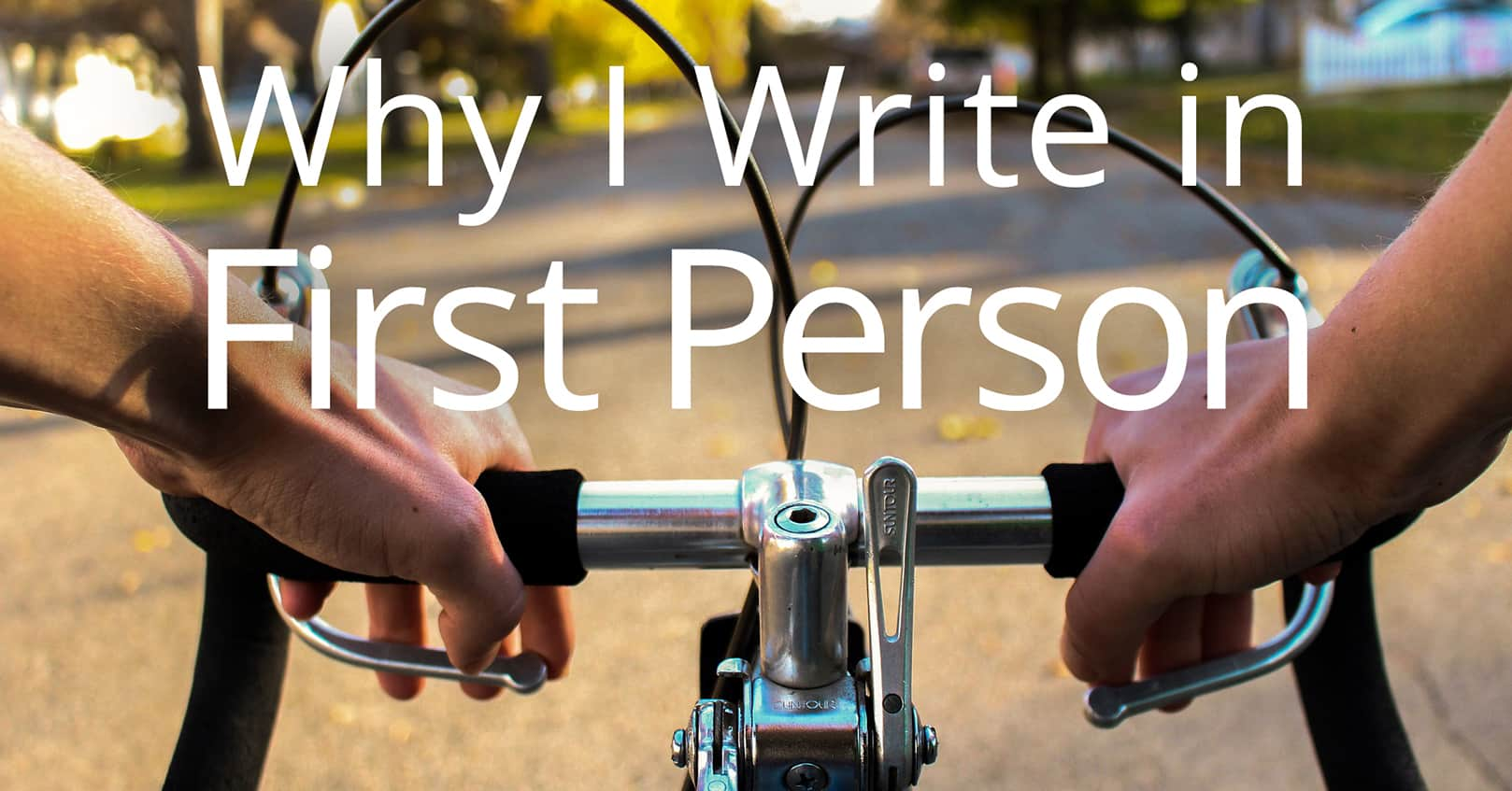 write in first person