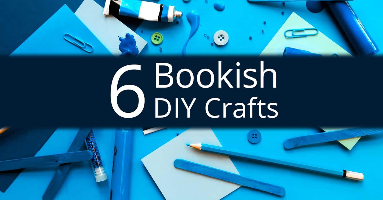 bookish diy crafts