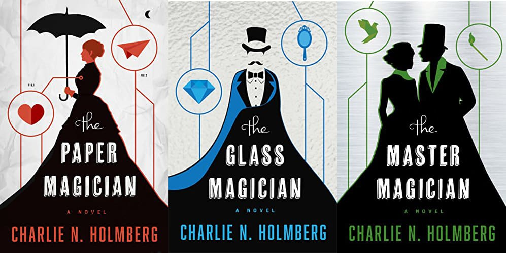 The Paper Magician series