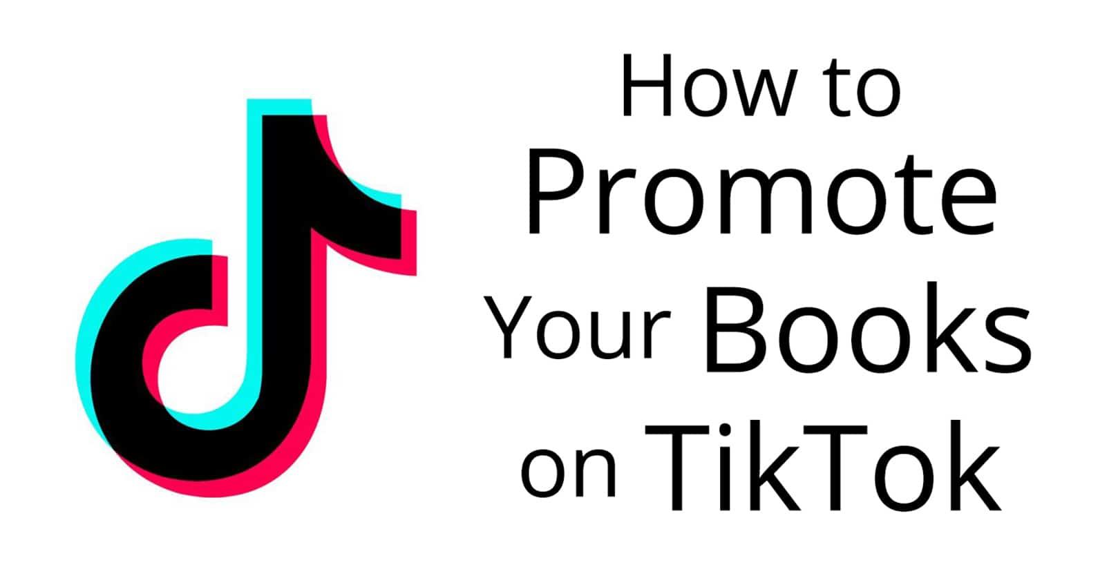 promote your books on tiktok