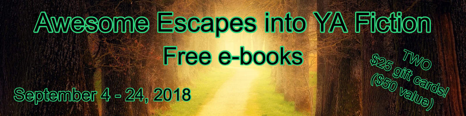 Awesome Escapes into YA Fiction