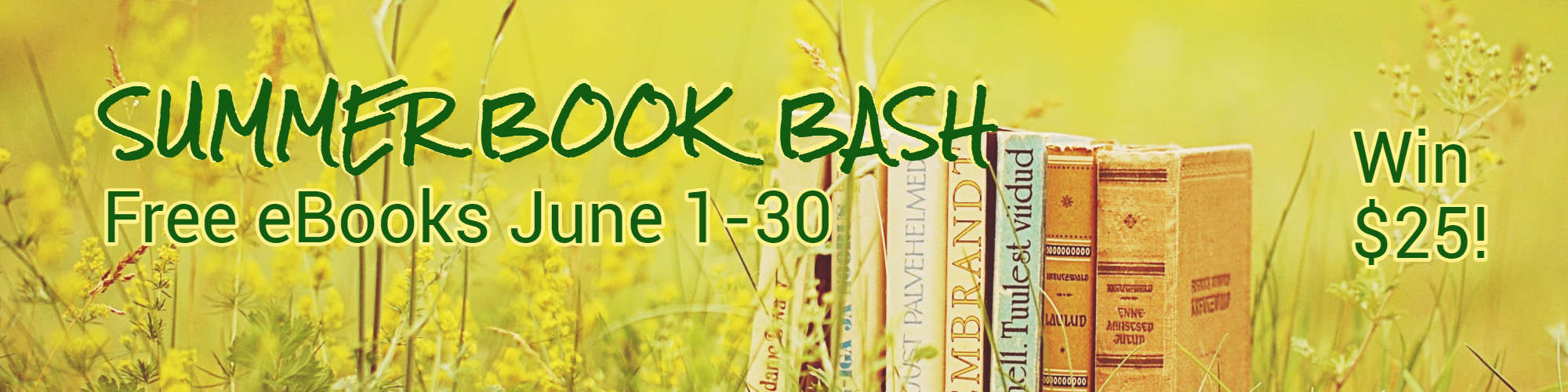 Summer Book Bash