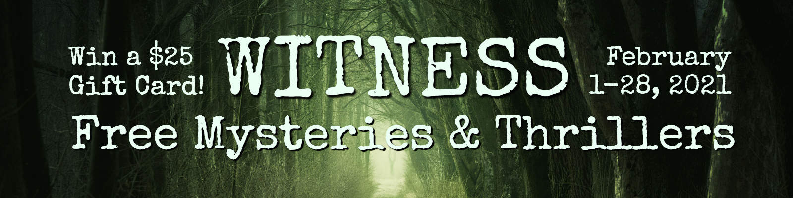 Witness Mysteries and Thrillers