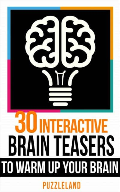 Cover for 30 Interactive Brainteasers to Warm up your Brain