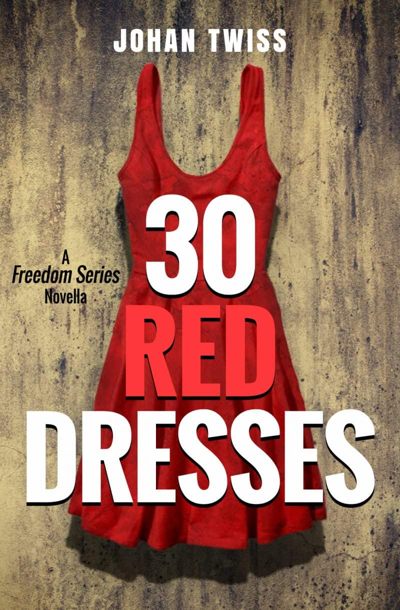 Cover for 30 Red Dresses