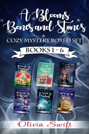 Cover for A Blooms, Bones and Stones Cozy Mystery Boxed Set