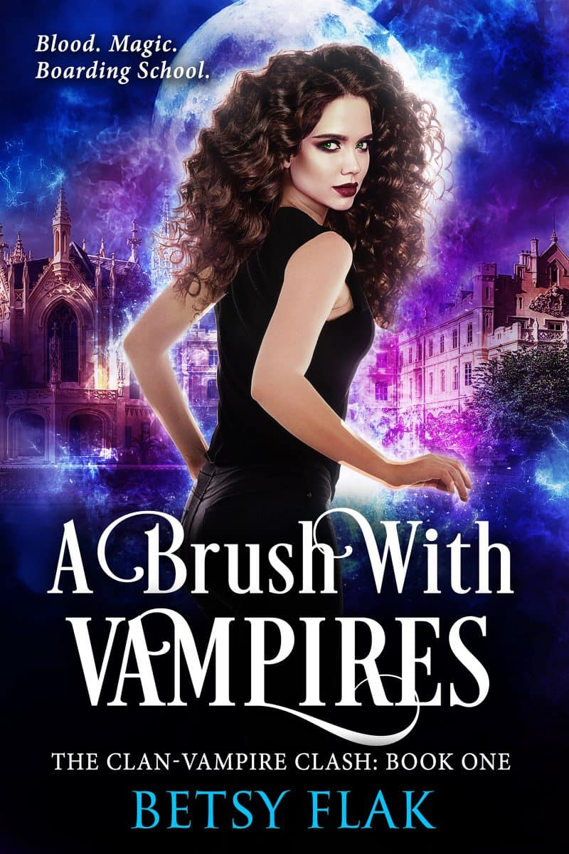 Cover for A Brush with Vampires (The Clan-Vampire Clash: Book One)