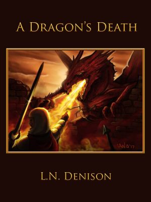 Cover for A Dragon's Death