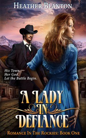Cover for A Lady in Defiance