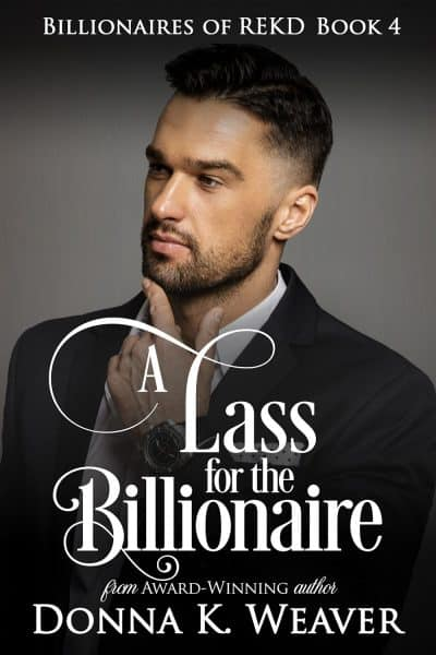 Cover for A Lass for the Billionaire