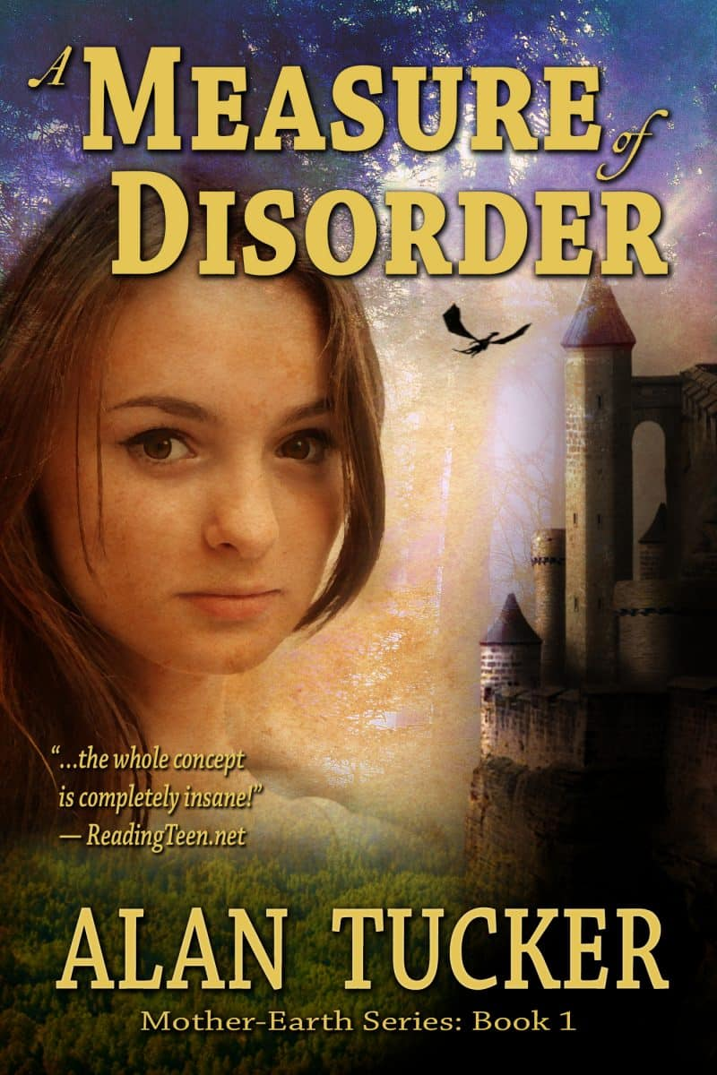 Cover for A Measure of Disorder, Book One of the Mother-Earth Series