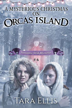 Cover for A Mysterious Christmas on Orcas Island