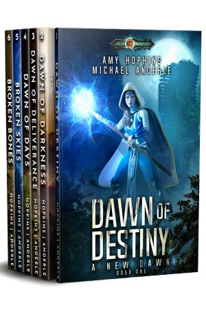 Cover for A New Dawn Omnibus: Complete Series Boxed Set