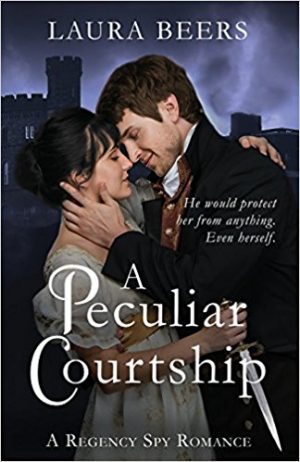 Cover for A Peculiar Courtship